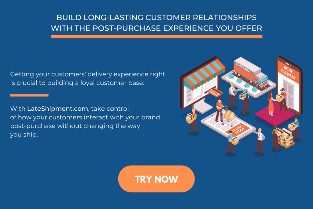 LateShipment.com ad for DEM