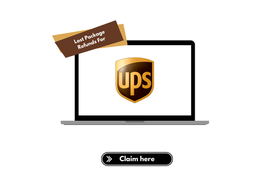File refund claims for UPS lost packages