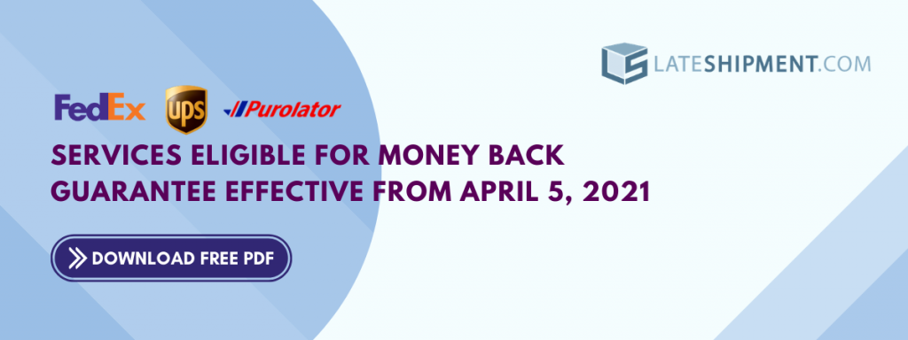 Money Back Guarantee-Eligible services effective from April 5, 2021