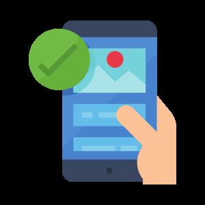 Non-mobile-friendly Site